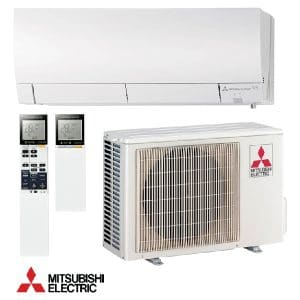 Hiperinvertoren klimatik Mitsubishi Electric MSZ-FH25VE/ MUZ-FH25VE, 9 000 BTU, Klas A+++