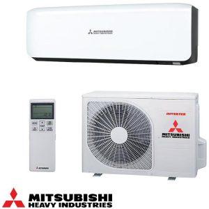 Invertoren klimatik Mitsubishi Heavy Industries Premium SRK20ZS-SB/ SRC20ZS-S, 7 000 BTU, Klas A+++