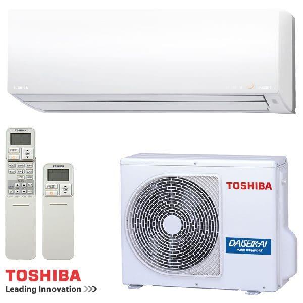 Hiperinvertoren klimatik Toshiba Daiseikai 8 RAS-13G2KVP-E/ RAS-13G2AVP-E, 13 000 BTU, Klas A+++