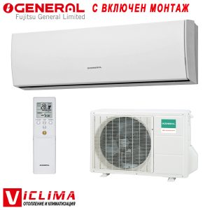 Invertoren-klimatik-Fujitsu-General-ASHG14LUCA-AOHG14LUC