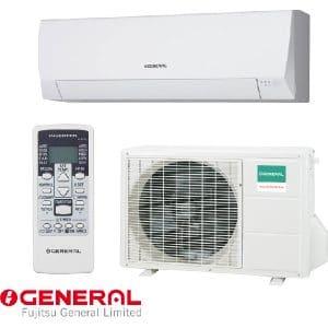 Invertoren klimatik Fujitsu General ASHG09LLCC/ AOHG09LLCC, 9 000 BTU, Klas A++