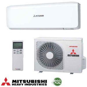 Invertoren klimatik Mitsubishi Heavy Industries Premium SRK25ZS-W/ SRC25ZS-W, 9 000 BTU, A+++
