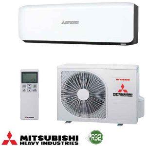 Invertoren klimatik Mitsubishi Heavy Industries Premium SRK25ZS-WB/ SRC25ZS-W, 9 000 BTU, A+++