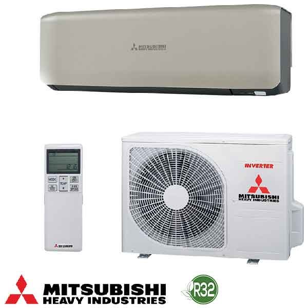 Invertoren klimatik Mitsubishi Heavy Industries Premium SRK25ZS-WT/ SRC25ZS-W, 9 000 BTU, A+++