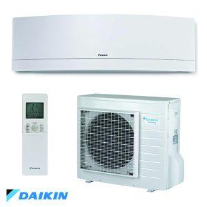 Invertoren klimatik Daikin FTXJ25MW/ RXJ25M Emura, 9 000 BTU, Klas A+++