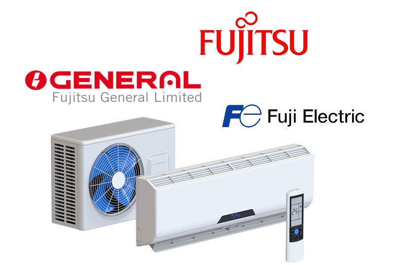 Разлика между Fujitsu General, Fuji Electric и Fujitsu